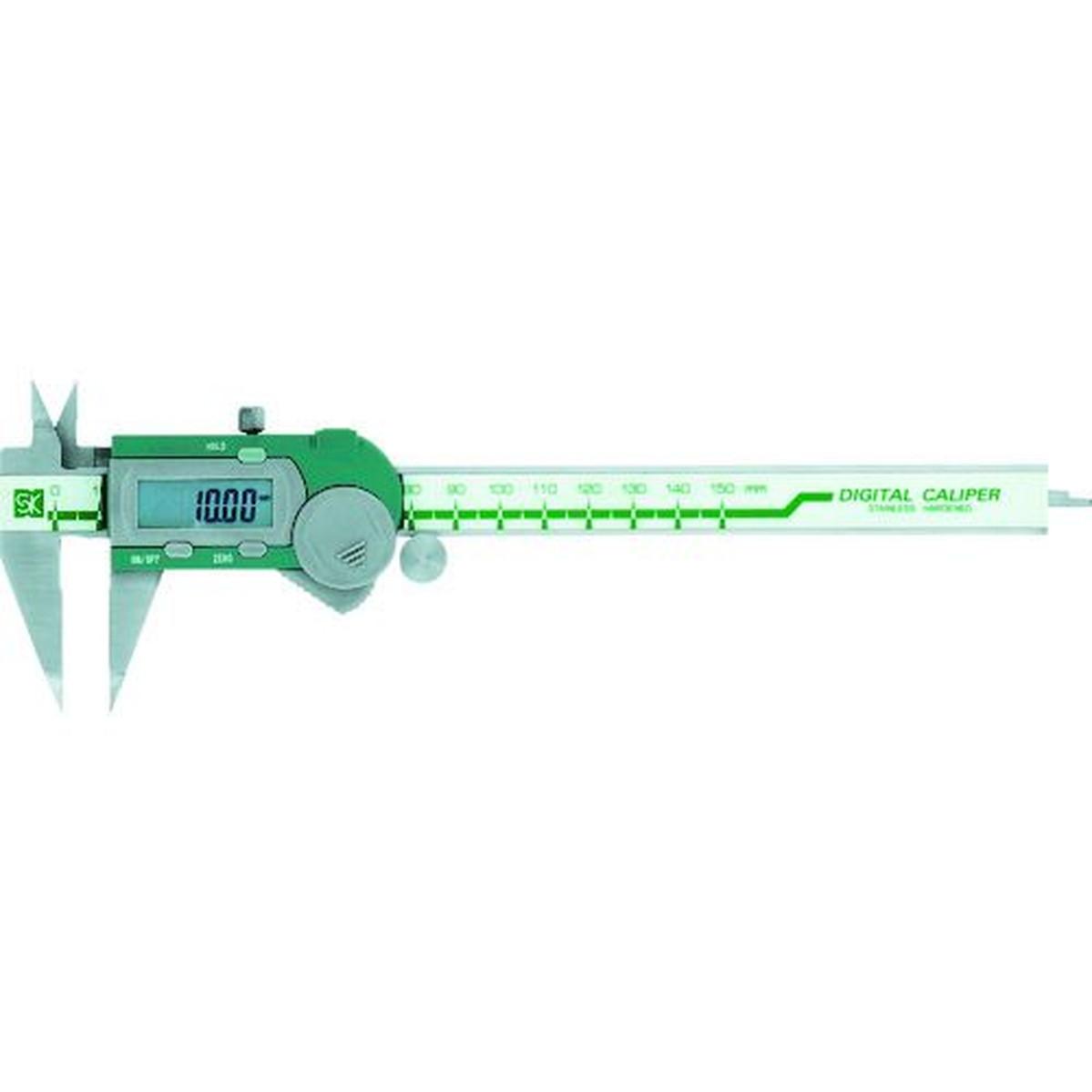 あす楽対応 流行 DIY用品 期間限定特別価格 SK デジタルポイントノギス GDCS-150P 1台 150mm