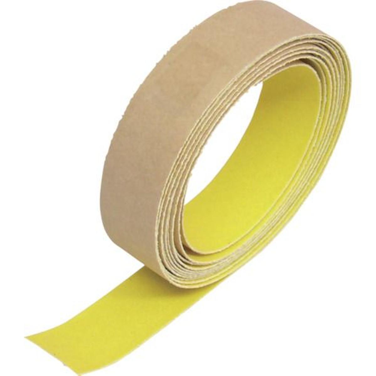 あす楽対応 5%OFF 時間指定不可 DIY用品 TRUSCO 蛍光ノンスリップテープ 25mmX3m 1巻 屋外用 黄