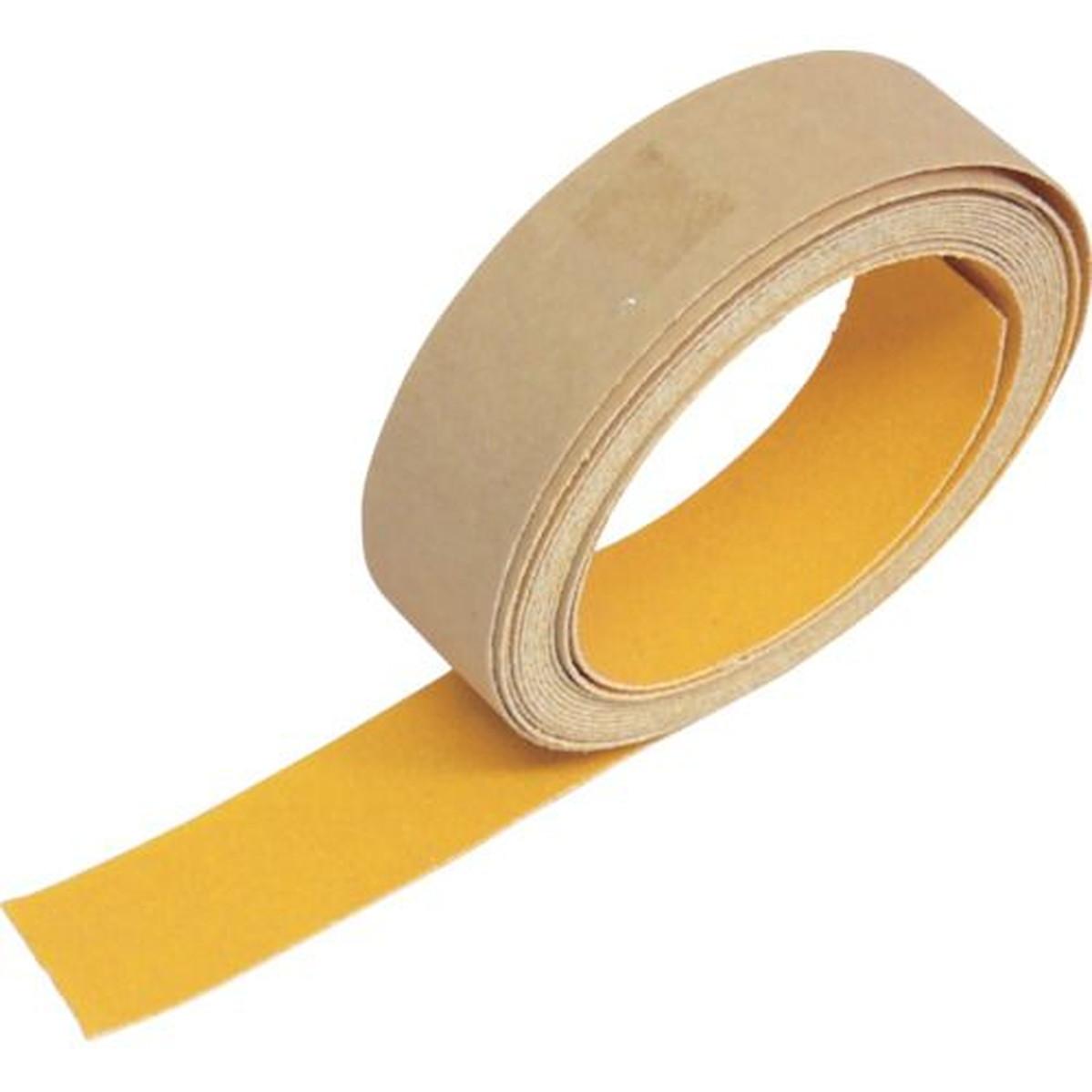 供え あす楽対応 DIY用品 TRUSCO 新作からSALEアイテム等お得な商品 満載 蛍光ノンスリップテープ 屋外用 1巻 オレンジ 25mmX3m