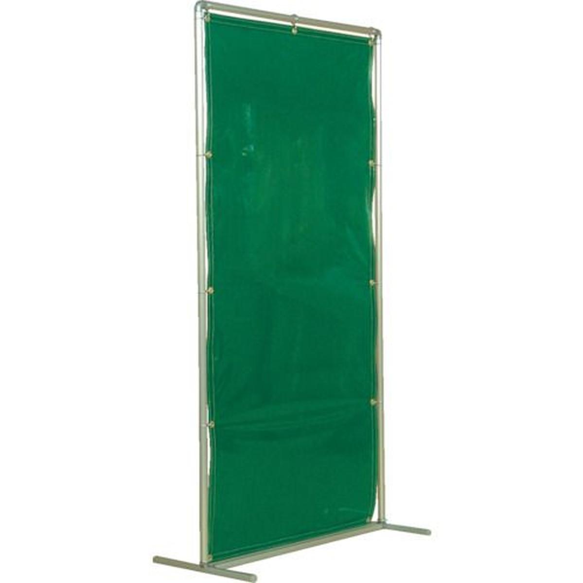 あす楽対応 DIY用品 正規取扱店 吉野 信憑 遮光フェンスアルミパイプ 単体固定 1台 1×2 グリーン