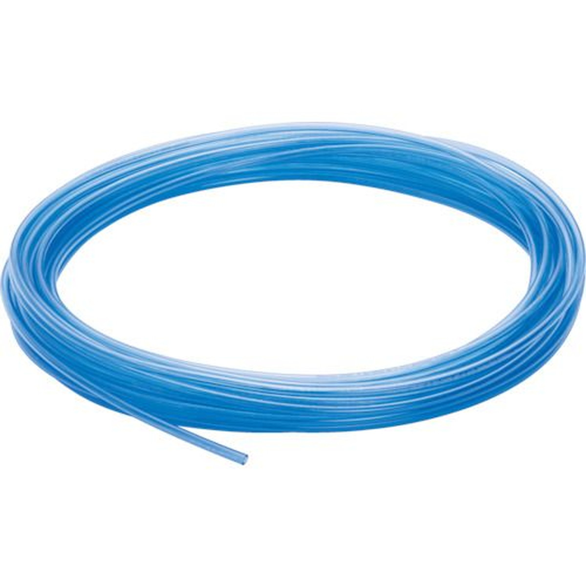 あす楽対応 訳あり品送料無料 DIY用品 ピスコ ウレタンチューブ 10X6.5 透明青 100M 1巻 豊富な品
