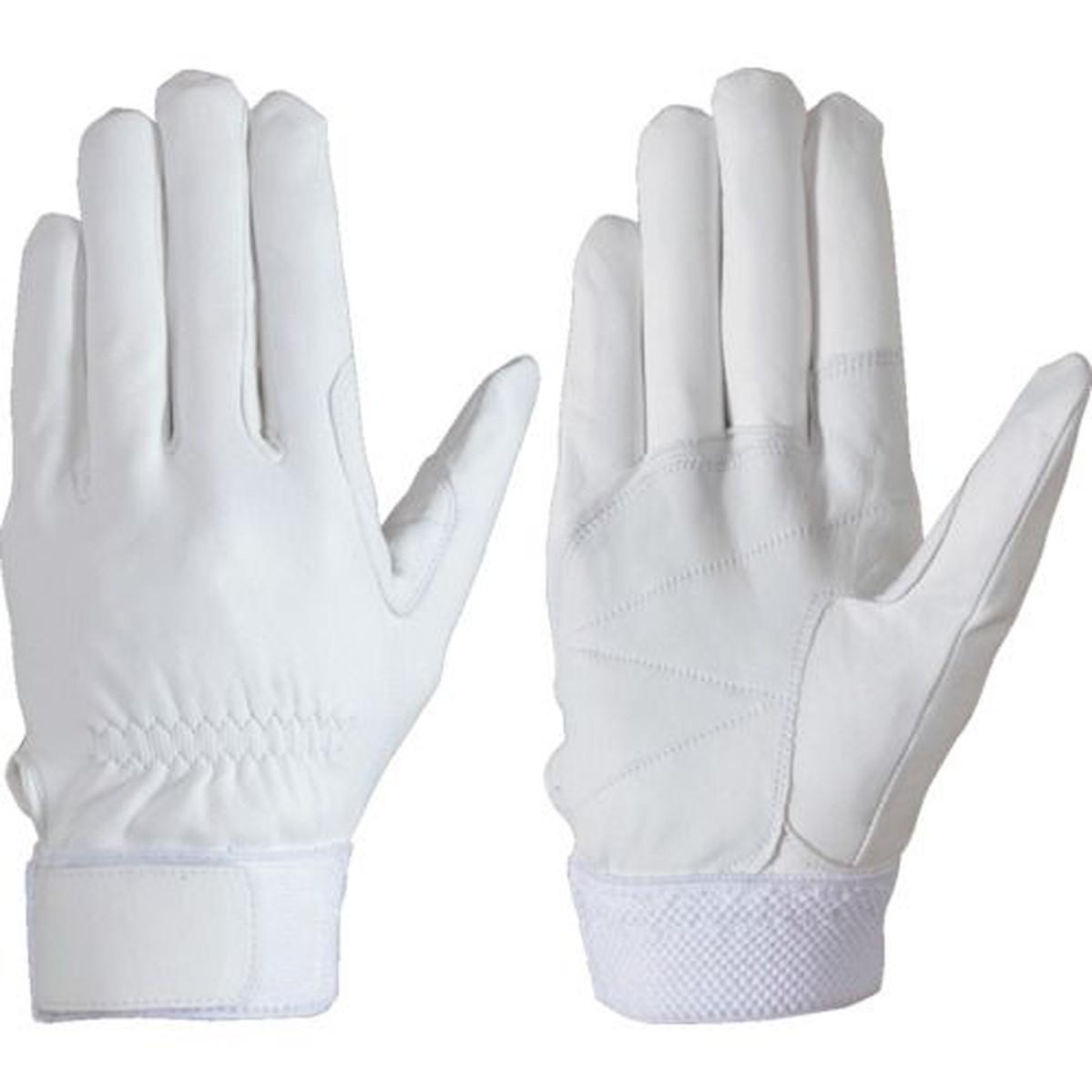 あす楽対応 DIY用品 シモン 激安 羊革手袋 セイバーNo.75白 LL寸 1双 ふるさと割
