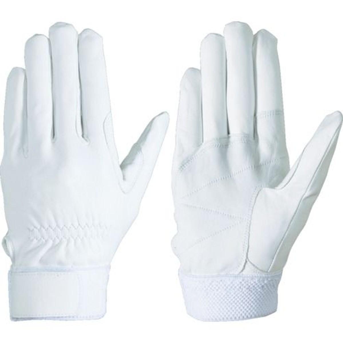あす楽対応 訳あり品送料無料 DIY用品 シモン 羊革手袋 M寸 セイバーNo.75白 永遠の定番モデル 1双
