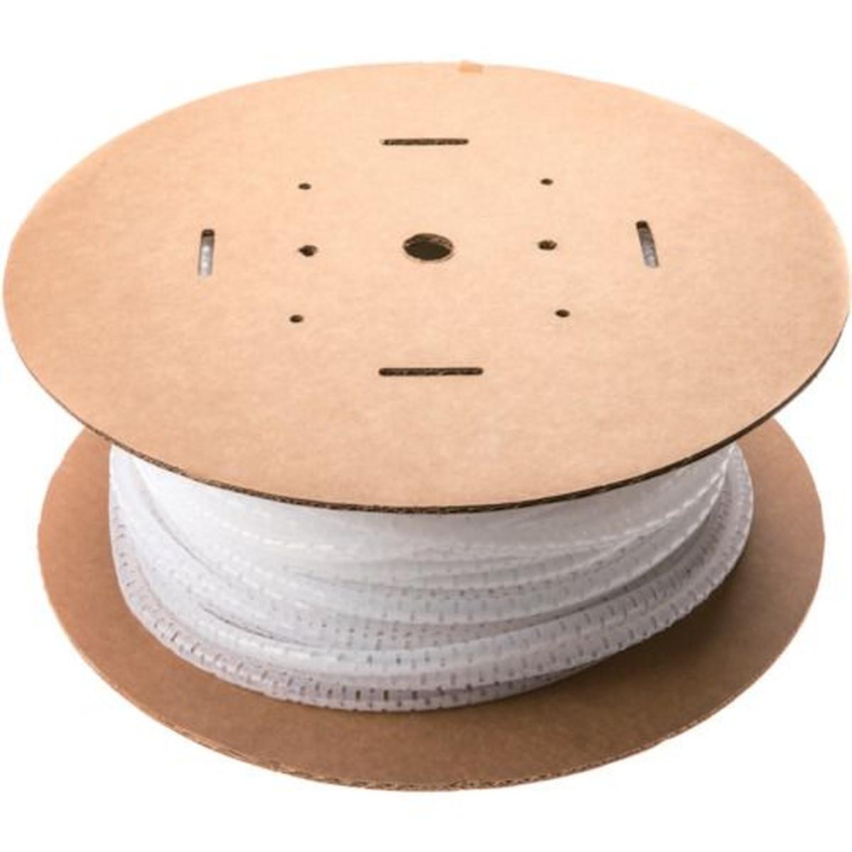 パンラップ パンドウイット 電線保護チューブ 束線径28.6Φmm PW150F-L 15m巻き 1巻 スリット型スパイラル ナチュラル