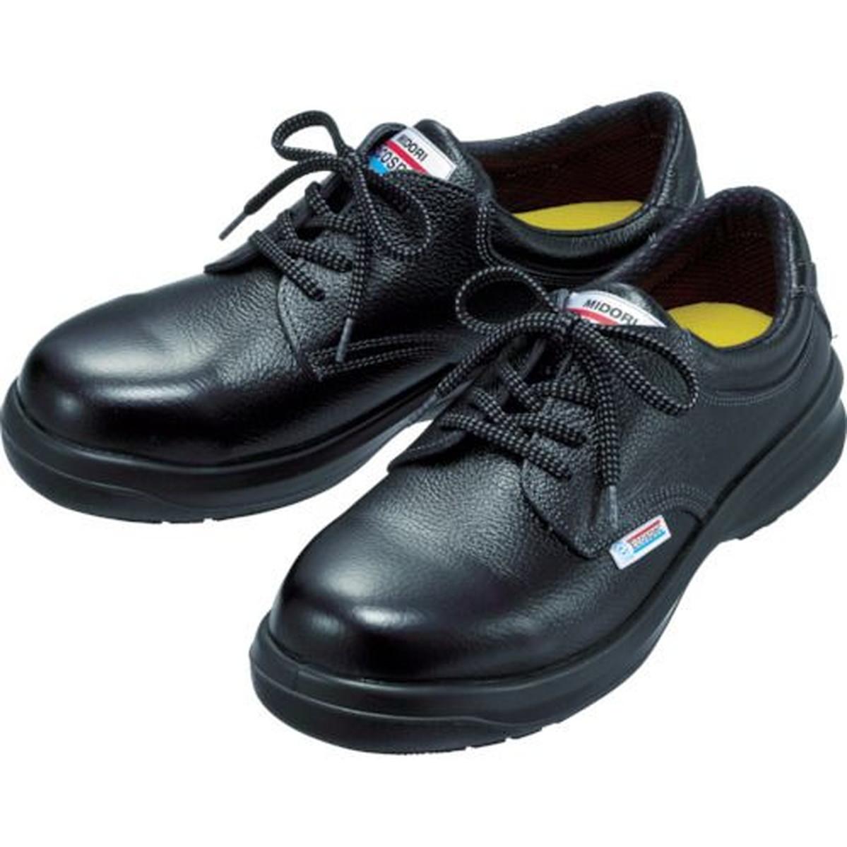 あす楽対応 DIY用品 ミドリ安全 着後レビューで 送料無料 エコマーク認定 23.5CM 1足 おトク ESG3210eco 静電高機能安全靴