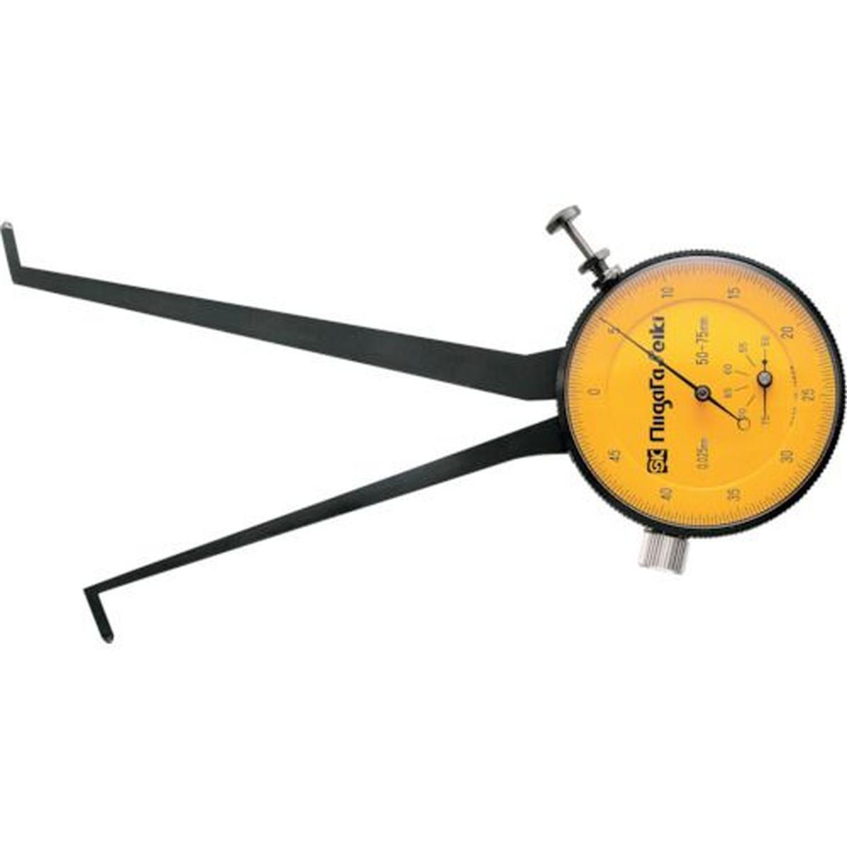 あす楽対応 DIY用品 SK ダイヤルキャリパゲージ 1個 測定範囲50~75mm 新作からSALEアイテム等お得な商品 満載 最小表示0.025mm 『1年保証』