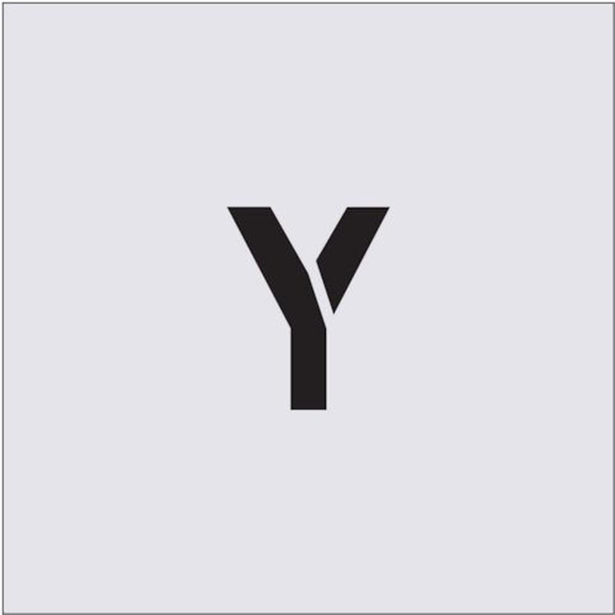 割引も実施中 あす楽対応 DIY用品 IM ステンシル Y 爆売り 文字サイズ50×40mm 1枚