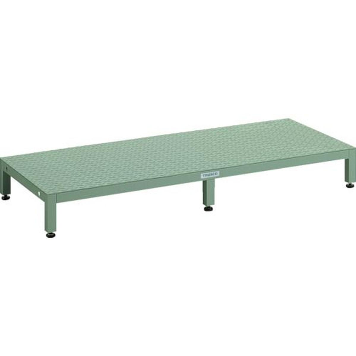 速くおよび自由な TRUSCO 1台 高床用縞鋼板ステップ TRUSCO 1500X600XH190~220 1台, SHiBA流:be2cc6a7 --- sequinca.net