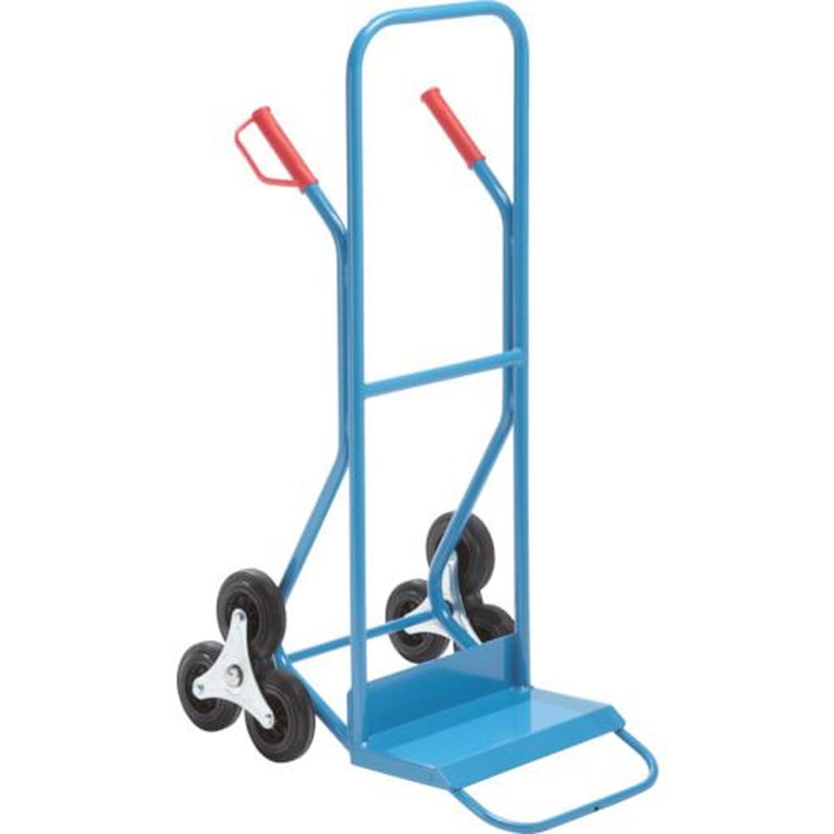 あす楽対応 いつでも送料無料 DIY用品 KAISER 中古 スチール三輪階段昇降機 250kg 1台