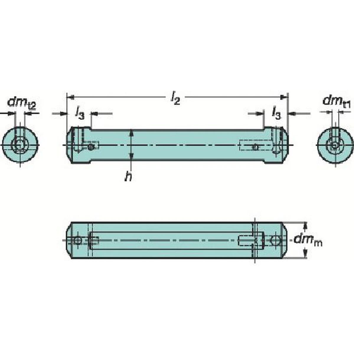 最新最全の サンドビック コロターンXS コロターンXS 小型旋盤用アダプタ 小型旋盤用アダプタ 1個, 湖畔の薬屋:d44dfb07 --- promotime.lt