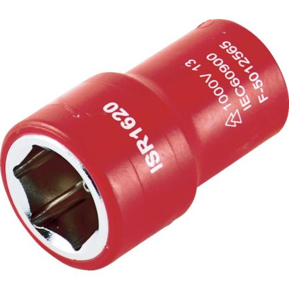 あす楽対応 DIY用品 セットアップ TRUSCO 絶縁ソケット 6角 対辺11mm 差込角6.35 限定タイムセール 1個