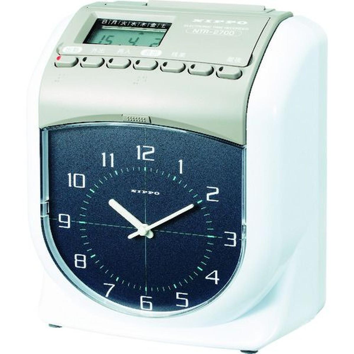ニッポー 1台 NTR-2700 タイムレコーダー