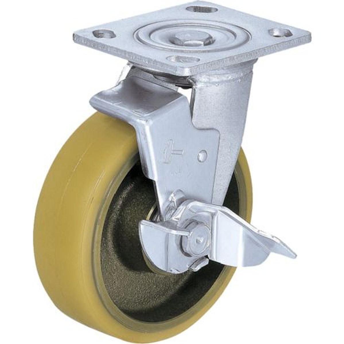 最高品質の ハンマー 重荷重用旋回式ウレタン車輪(イモノホイール SP付・ラジアルボールベアリング)150mm 1個 ハンマー SP付 1個, スワロフスキー通販 デコダリア:fe2ad9df --- bungsu.net