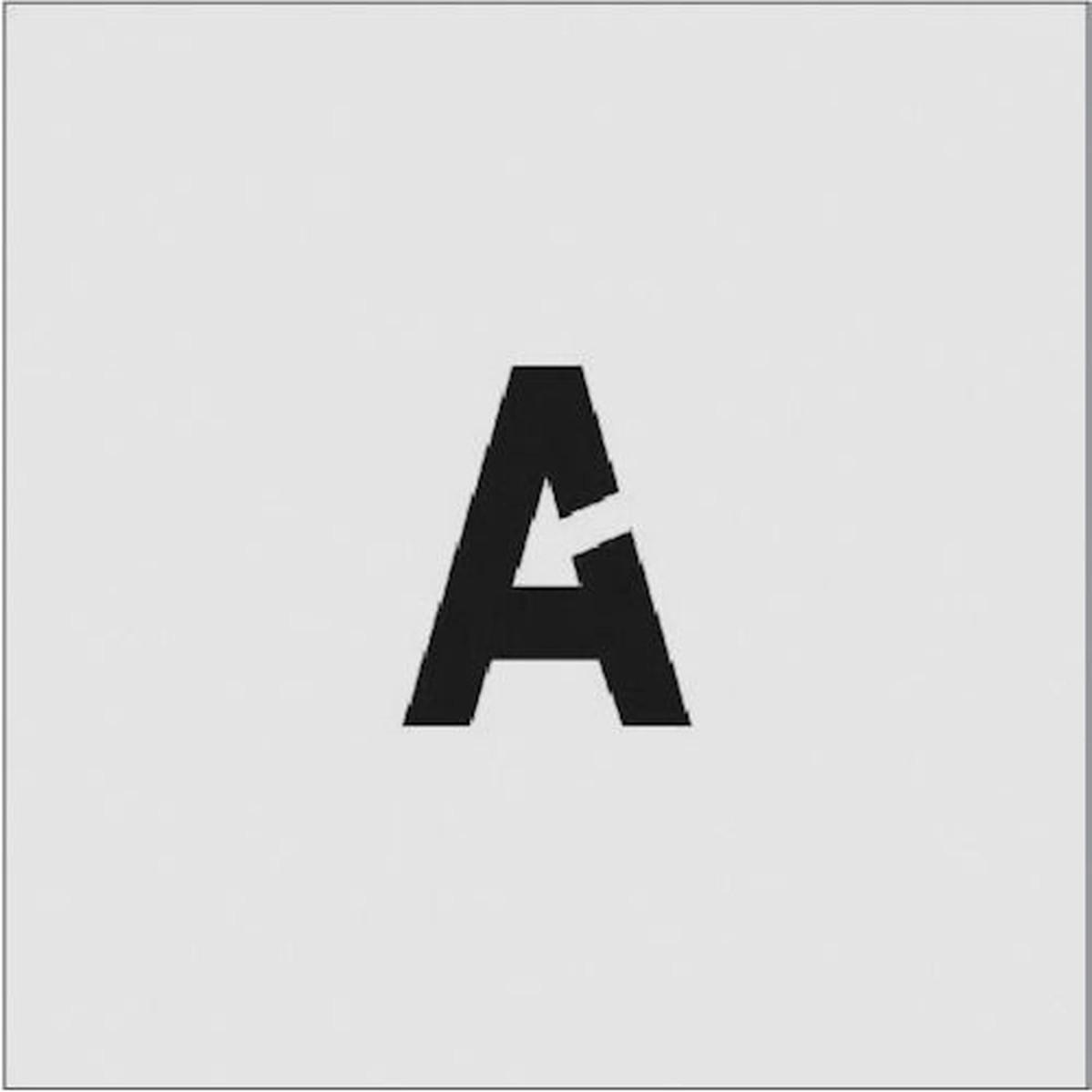超特価SALE開催 あす楽対応 DIY用品 オリジナル IM ステンシル 文字サイズ50×40mm A 1枚