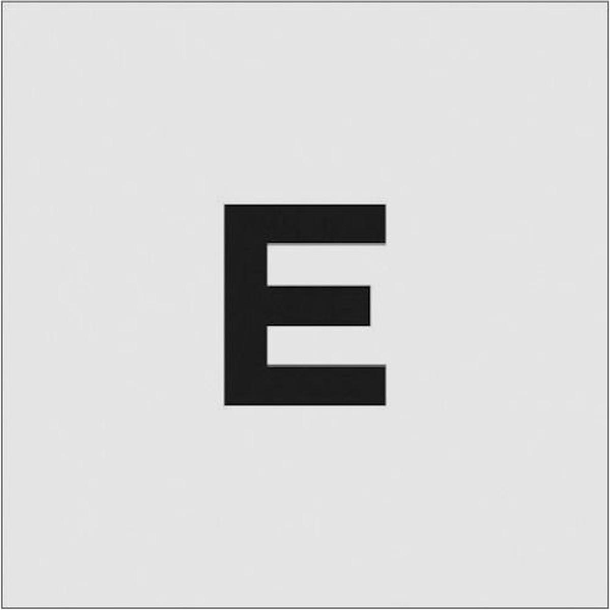 あす楽対応 DIY用品 日本全国 送料無料 IM ステンシル 本物 1枚 文字サイズ50×40mm E