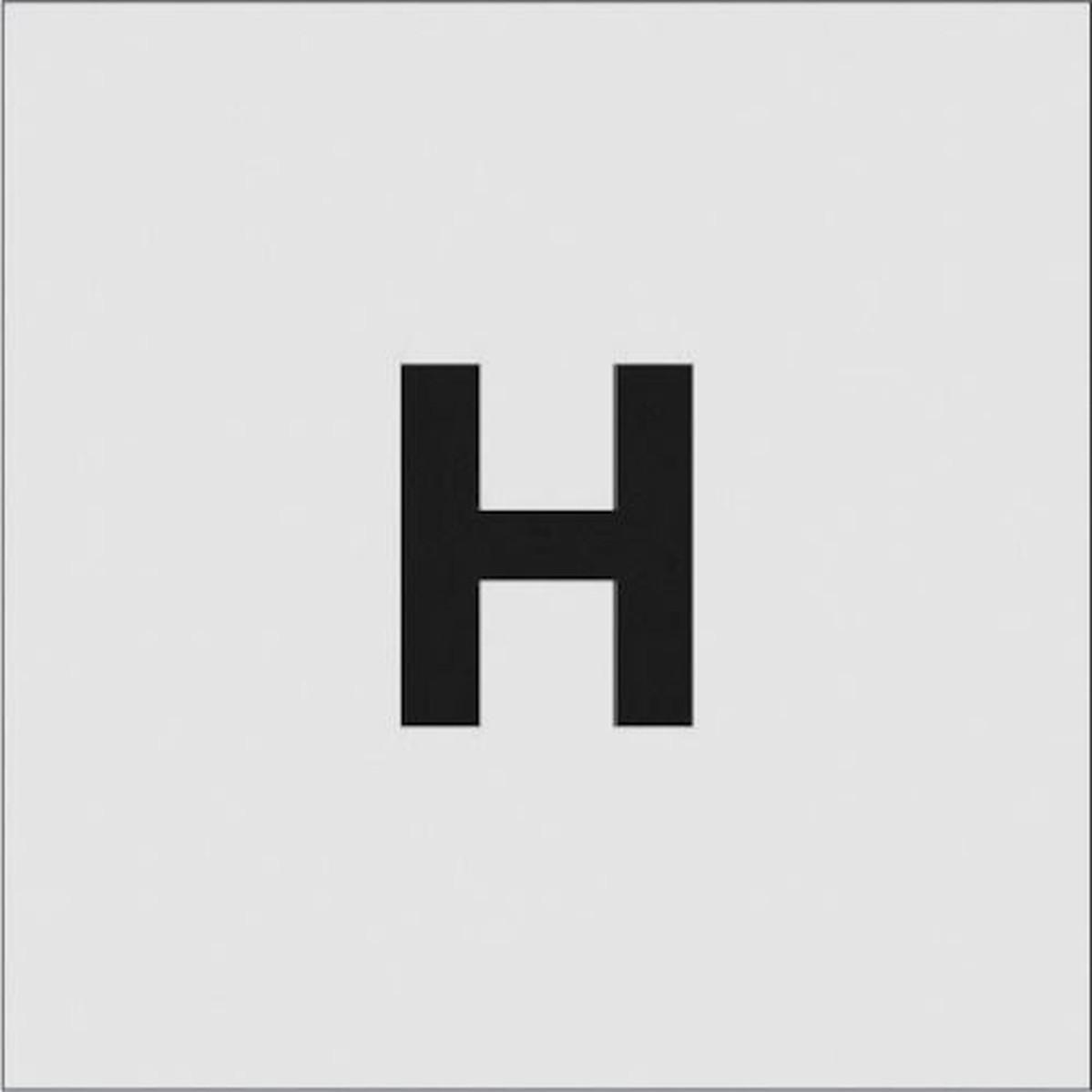 特売 あす楽対応 与え DIY用品 IM ステンシル 1枚 H 文字サイズ50×40mm