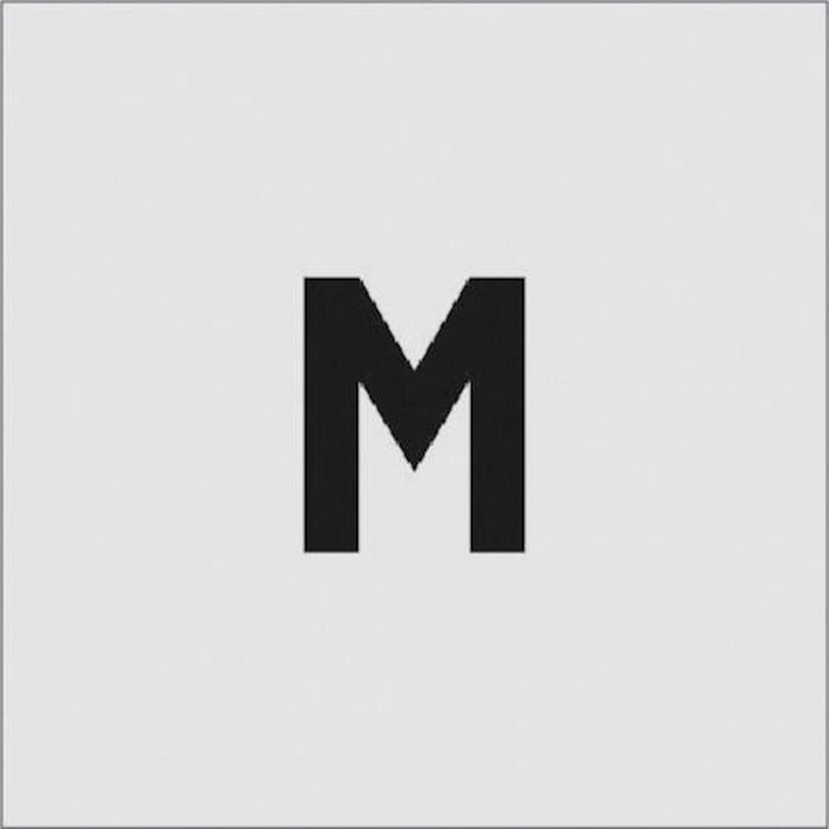 あす楽対応 DIY用品 IM 新作通販 ステンシル 1枚 文字サイズ50×40mm M 男女兼用