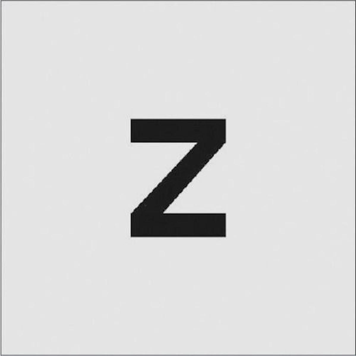 あす楽対応 DIY用品 予約販売品 IM ステンシル Z 1枚 文字サイズ50×40mm 新生活