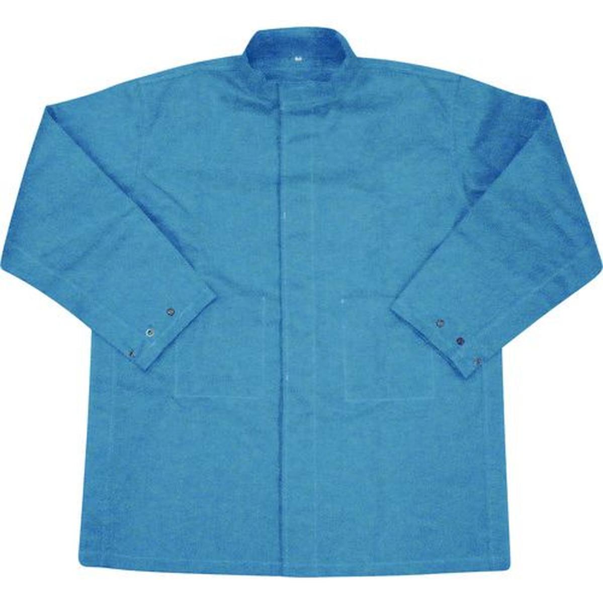 あす楽対応 DIY用品 直営限定アウトレット 吉野 ハイブリッド 耐熱 耐切創 作業服 ネイビーブルー 1着 上着 新生活