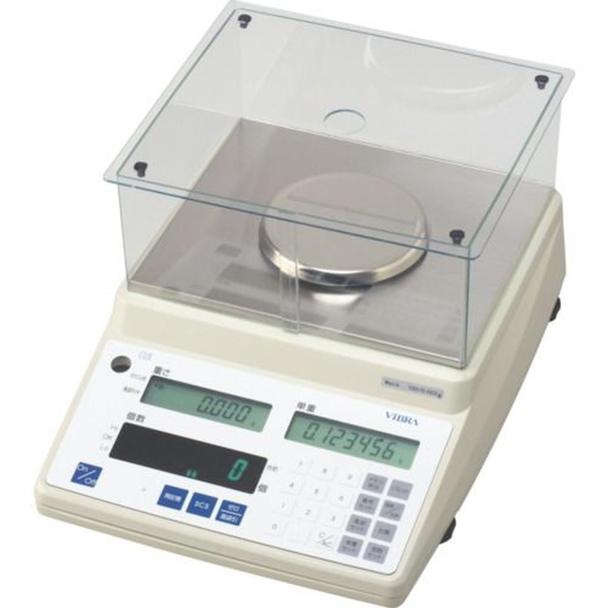 【在庫有】 ViBRA カウンティングスケール 秤量0.15kg 最小表示0.002g 1台, インナーショップクレール 87d01c57