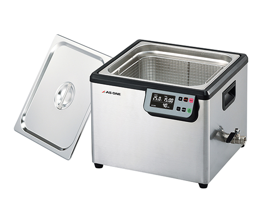 あす楽対応 希少理化学衛生用品 海外並行輸入正規品 超音波洗浄器 単周波 保証 MCS-13 1個 13L