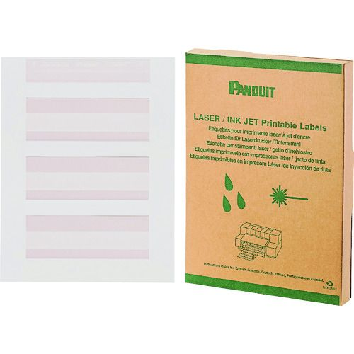 激安通販新作 パンドウイット 1箱 パンドウイット 白 レーザープリンタ用回転ラベル 白 印字部50.8mmX12.7mm ラベル数1000枚 R200X150X1J 1箱, ricasa:5bc9205b --- promilahcn.com