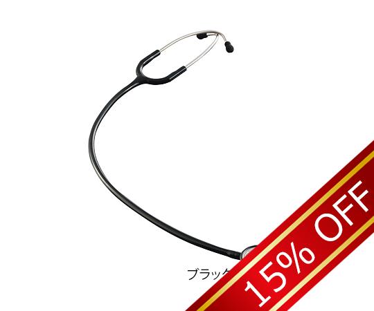 あす楽対応 正規認証品 新規格 希少理化学衛生用品 バイタルナビ聴診器 卓抜 プロフェッショナル VNP-01 1本 ブラック