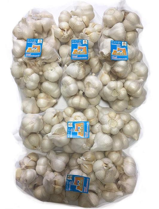 にんにく 青森県産 「ホワイト六片にんにく」 業務用にんにくMサイズ10kg 産地直送 送料無料