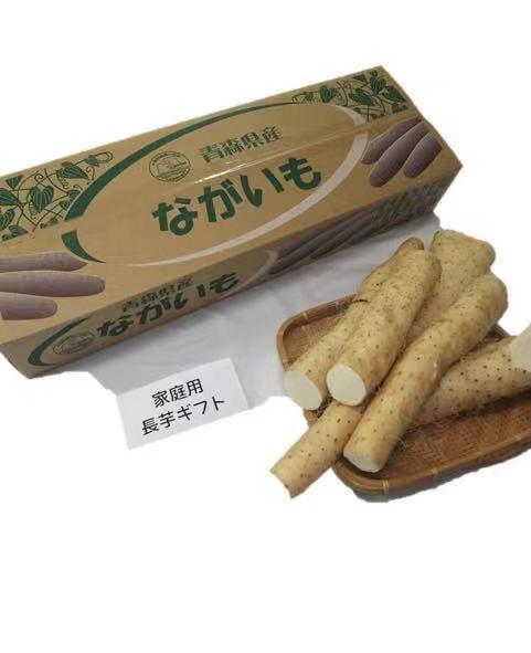 家庭用長芋、形がひらべったかったり、途中でカットされていたりします。 送料無料 青森県産長芋 とろろ芋 家庭用 3kg