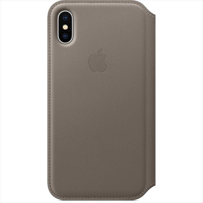 Apple(アップル) 純正 iPhone X レザーフォリオケース 手帳型 トープ MQRY2FE/A MQRY2FEA