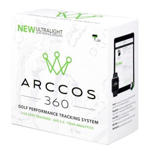 [P最大29倍以上&2,000円OFFクーポン有]Arccos 360 アーコスゴルフ Arccos Golf ライブショットトラッキング&GPSシステム