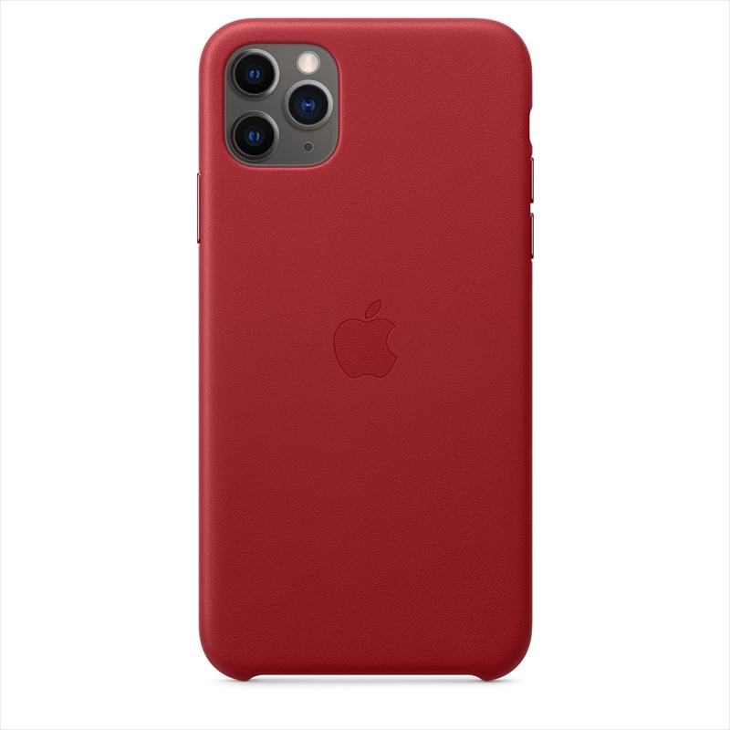 Apple(アップル)純正 iPhone 11 Pro Max(6.5インチ)レザーケース (PRODUCT)RED レッド 本革 保護ケース 国内正規品 MX0F2FE/A