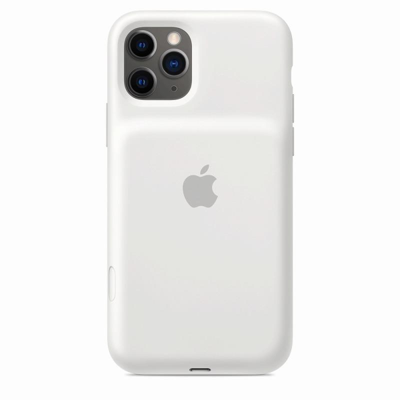 Apple(アップル)純正 iPhone 11 Pro(5.8インチ)Smart Battery Case スマートバッテリーケース[Qiワイヤレス充電](ホワイト)MWVM2ZA/A
