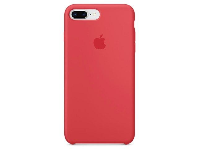 Apple(アップル)純正 iPhone 7 Plus/8 Plus(5.5インチ)シリコーンケース レッドラズベリー MRFW2FE/A
