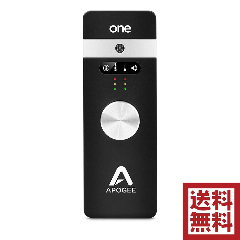 Apogee ONE for iPad/Mac/iPhone オーディオインターフェイス&マイクロフォン GarageBand/Logic/Final Cut対応