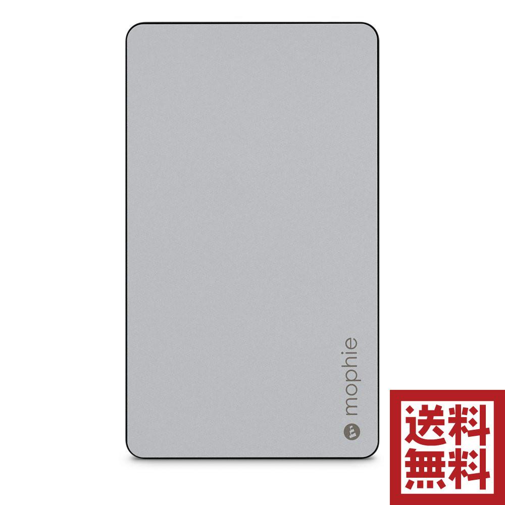 [全品エントリーでポイント10倍]mophie powerstationユニバーサル モバイル バッテリー 6,000mAh Apple iPhone/iPod/iPad スペースグレイ