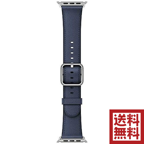【エントリーでポイント最大4倍】Apple Watch 42mm ケース用 ミッドナイトブルークラシックバックル MPWV2FE/A