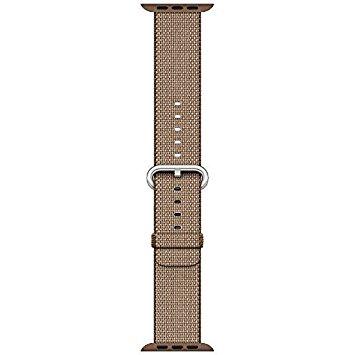 [超ポイントバック祭&現金値引クーポン]アップルウォッチ 純正 Apple Watch 42mm 交換用バンド トーステッドコーヒー/キャラメルウーブンナイロン MNKE2FE/A