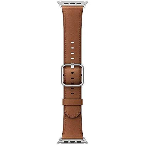 [超ポイントバック祭&現金値引クーポン]アップルウォッチ Apple Watch 42mm 交換用バンド サドルブラウンクラシックバックル MPWT2FE/A