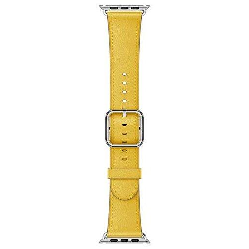 [超ポイントバック祭&現金値引クーポン]Apple Watch 38mm 交換用バンド サンフラワークラシックバックル MPWP2FE/A