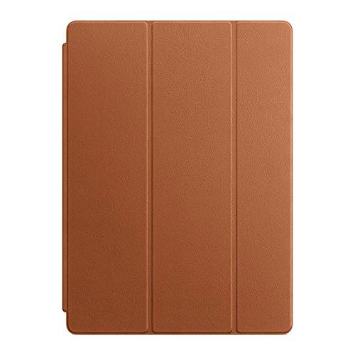 純正 Apple 12.9インチiPad Pro用レザーSmart Cover サドルブラウン