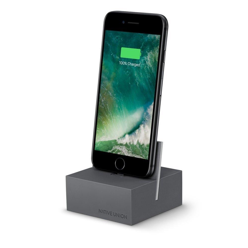 Native Union DOCK+充電ドック Lighting Charging Dock スタンド iPhone/iPad/iPod アイフォン ネイティブユニオン