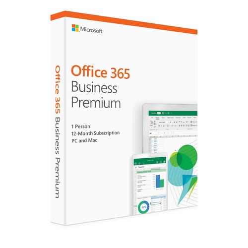 Microsoft Office 365 Business Premium マイクロソフト オフィス ビジネスプレミアム パッケージ版 1ユーザー5台用 1年版ライセンス【Windows/Mac用】