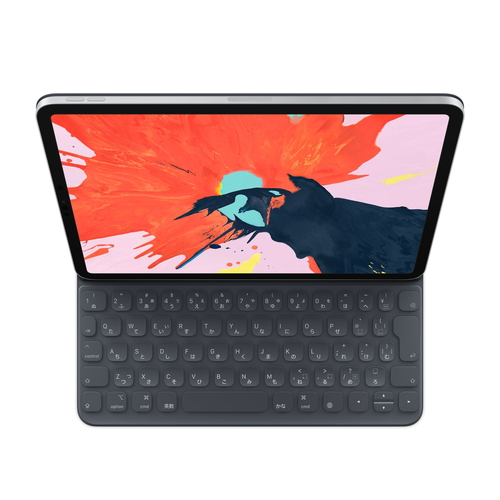 【全品エントリーでP10倍】Apple(アップル)純正 11インチiPad Pro用Smart Keyboard Folio 日本語(JIS) スマートキーボード ケース MU8G2J/A MU8G2JA