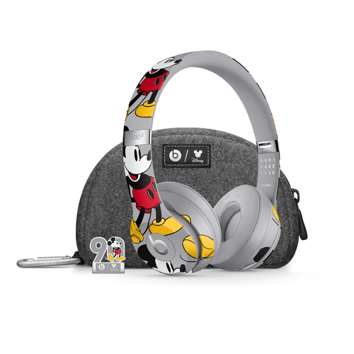 Apple Beats Solo3 Wireless ヘッドフォン ミッキーマウス 生誕90周年アニバーサリーエディション(Mickey's 90th Anniversary Edition) MU8X2PA/A