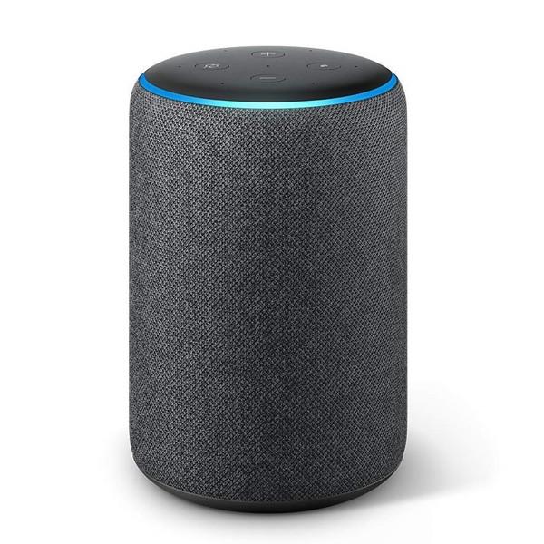 Amazon(アマゾン) Echo Plus エコープラス[第2世代] with Alexa チャコール(ファブリック)