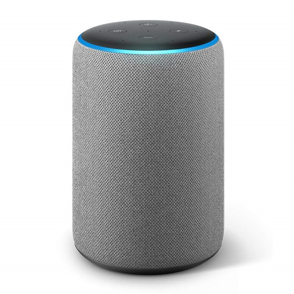 Amazon(アマゾン) Echo Plus エコープラス[第2世代] with Alexa ヘザーグレー(ファブリック)