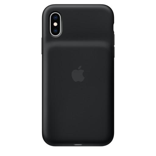 【全品エントリーでP10倍】Apple(アップル)純正 iPhone XS(5.8インチ)Smart Battery Case スマートバッテリーケース [Qiワイヤレス充電対応](ブラック)MRXK2ZA/A MRXK2ZAA