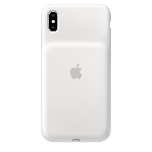 【全品エントリーでP10倍】Apple(アップル)純正 iPhone XS Max(6.5インチ)Smart Battery Case スマートバッテリーケース [Qiワイヤレス充電対応](ホワイト)MRXR2ZA/A MRXR2ZAA