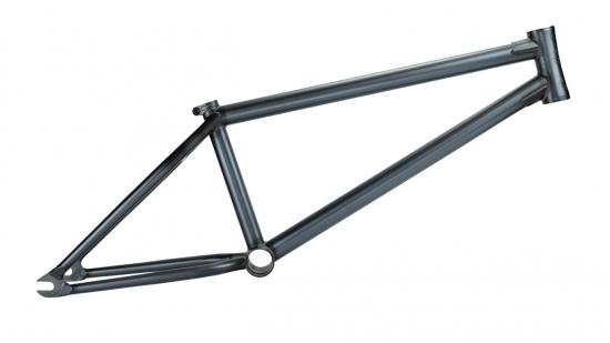 【BMX ストリート フレーム】 STRESS BES Frame (ダーク クリア ロウ)